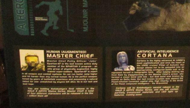 Halo 3 statues Kotobukiya 673798KCortana1