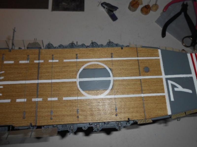 PA AKAGI 1/350 de chez Hasegawa PE + pont en bois par Lionel45 - Page 6 674024Aka016