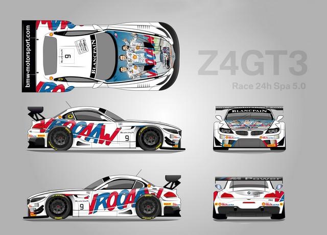 Le Brand Store BMW George V présente l'exposition « Michel Vaillant Art Strips » et la BMW Z4 GT3 by Michel Vaillant  675054P90191144highResmunichde20thjuly