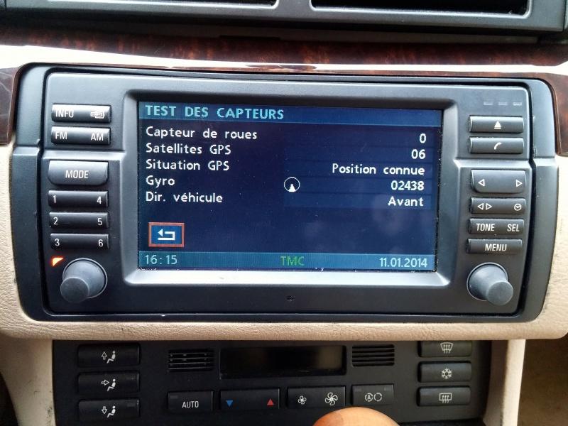 [TUTO toutes BMW jusqu'à 2003] Les menus du GPS mk4 (notions 675471Testdescapteurs
