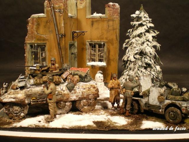 M20 Tamiya et jeep blindée Dragon - 1/35 Ardennes 677494IMGP1702