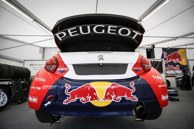 Rallycross - Belle deuxième place de Sébastien Loeb sur la PEUGEOT 208 WRX 67750502A3549