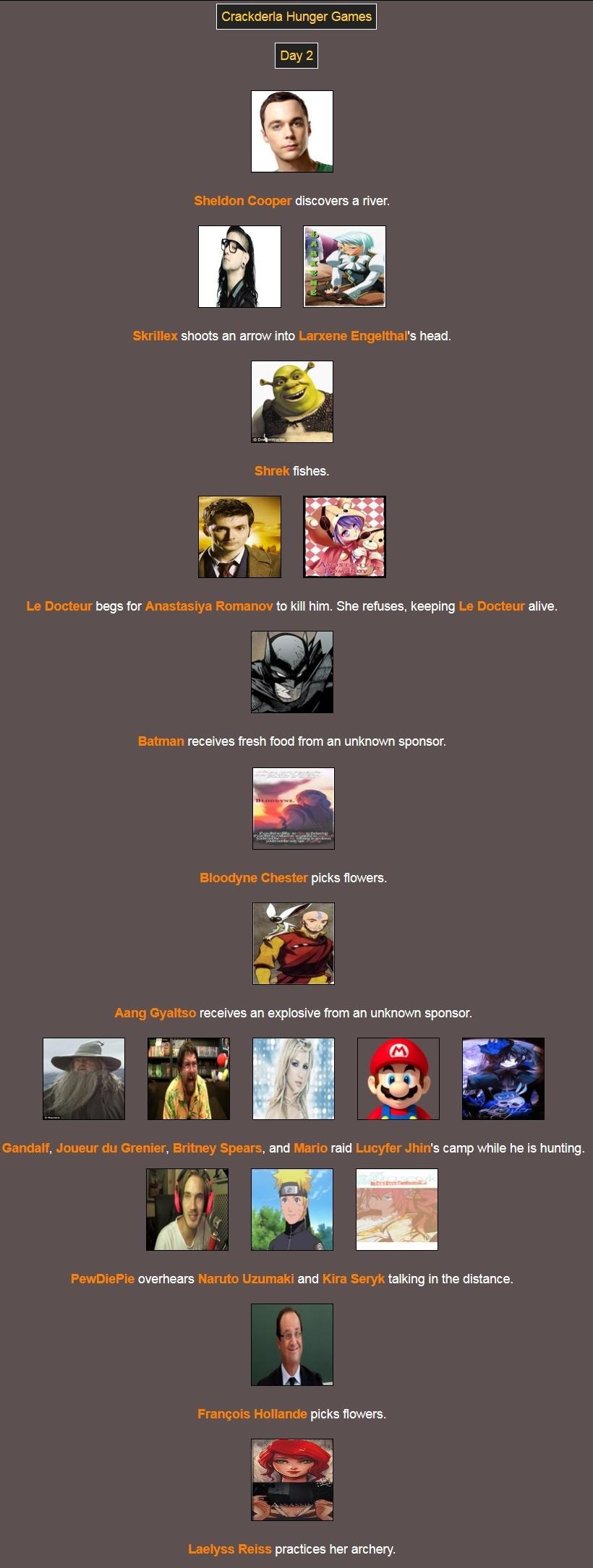 [Crackderla N°1] Hunger Games - Page 4 67760931Day2