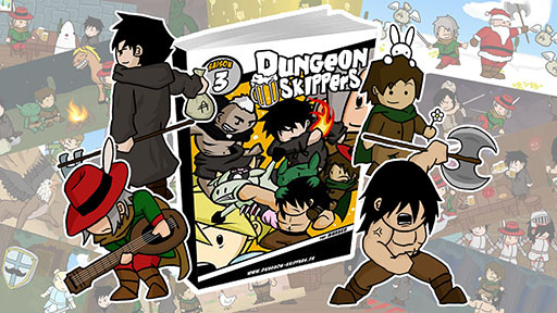 [Webcomic] Dungeon Skippers 678252Covermini