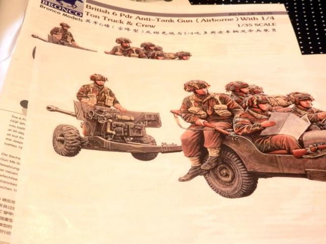 6 pdr ,jeep ,équipage airborne Bronco 1/35 (sur la route de Ouistreham) - Page 2 679736P5010417