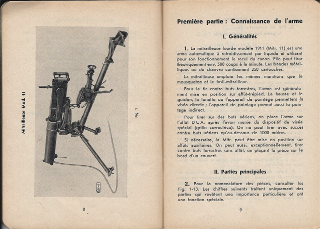 Mitrailleuse suisse Mod. 1911 679929MG113