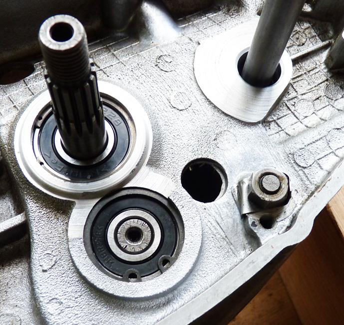 remontage d'un bas moteur d'une 125 TS 680559P1060194