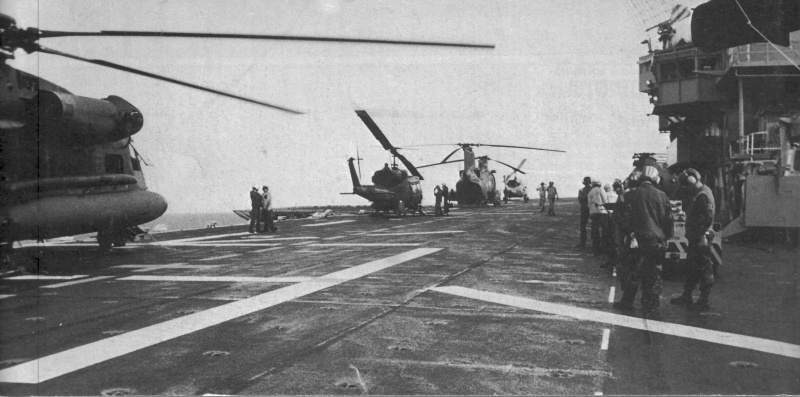 LANDING PLATFORM HELICOPTER (LPH) CLASSE IWO JIMA 682181USSGuamLPH9Grenade19832