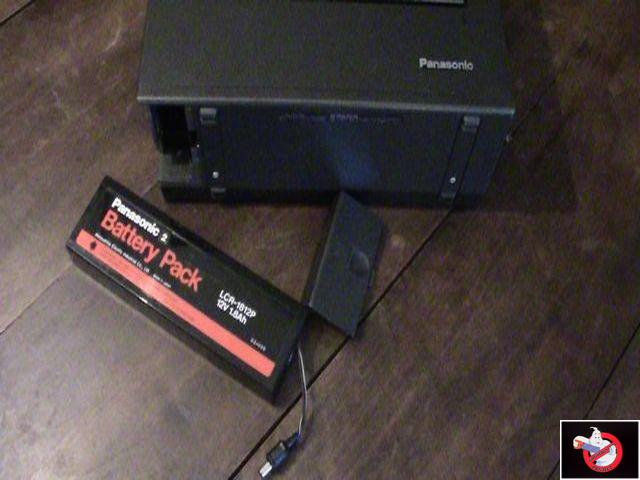 Caméra Panasonic PK-750 et VCR Portable NV-8410 68302723