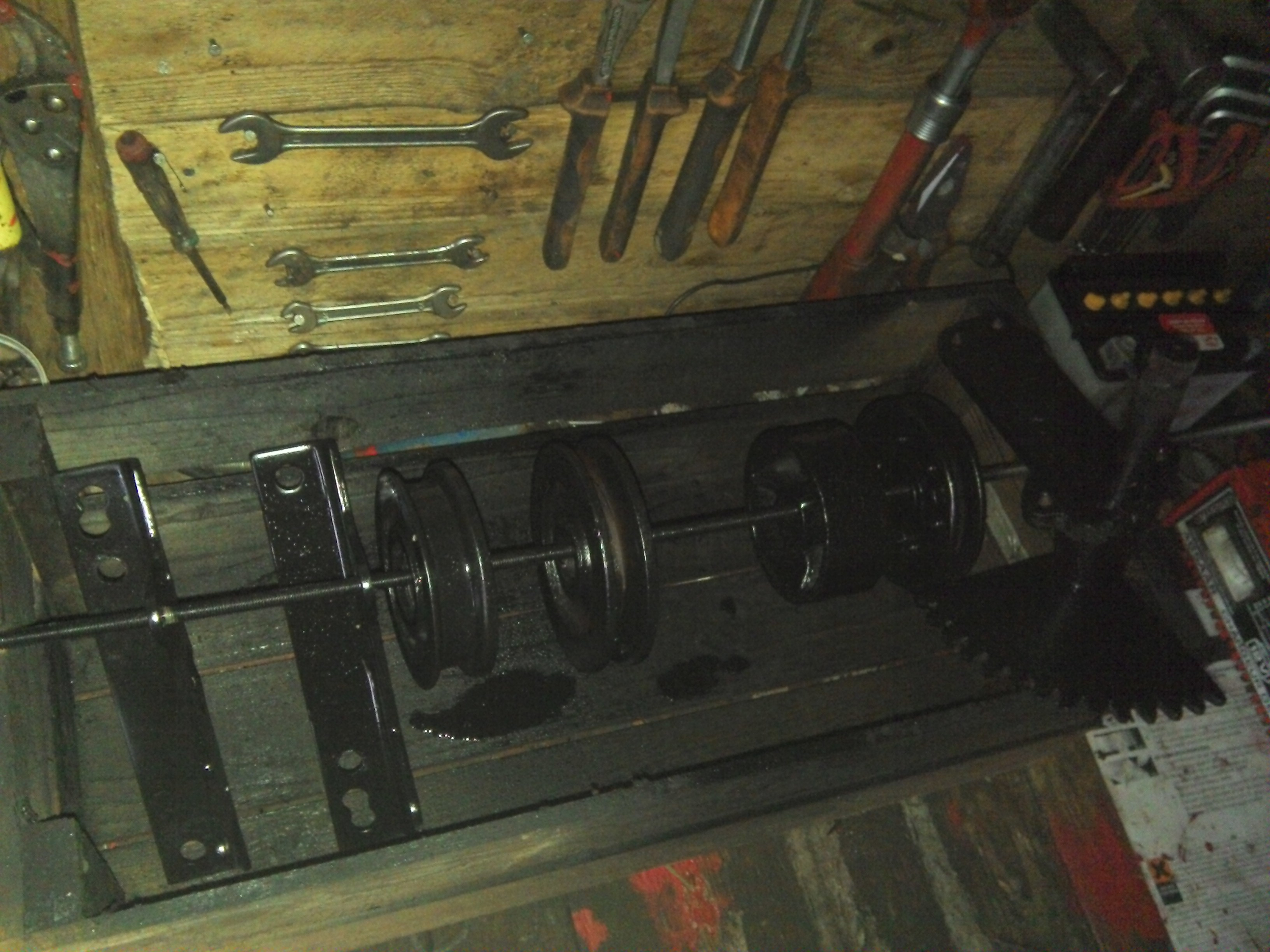 Restauration micro tracteur motostandard 1017 684928IMG20131124155123