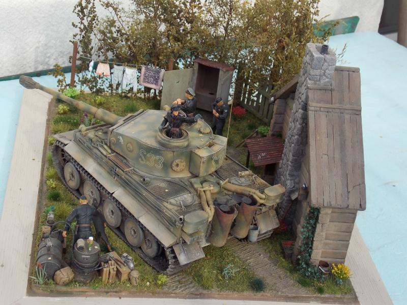 TIGRE S33  avant la bataille de Koursk juillet 43 (Dragon 1/35 dio DIODUMP) - Page 9 685603DSCN4779