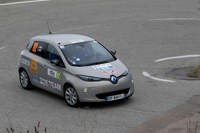 Renault ZOE truste les quatre premières places du 6ème Rallye Monte-Carlo ZENN 6856936722216