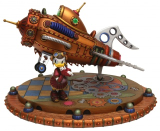 (Disneyland Park) The Disney Gallery - Exposition Mechanical Kingdoms - Steam-Driven Visions of a Victorian Future 686543tdg7