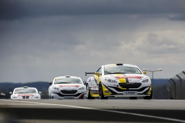 RCZ RACING CUP - Nicolas Milan et David Pouget dos à dos au Mans 68737657d42683383fa