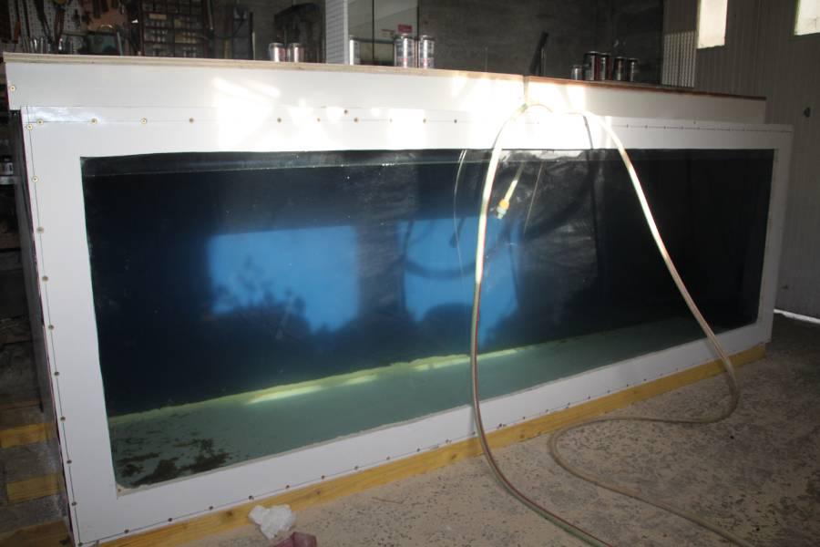 réalisation d'un aquarium en bois de 2000L 687663PXRIMG0026