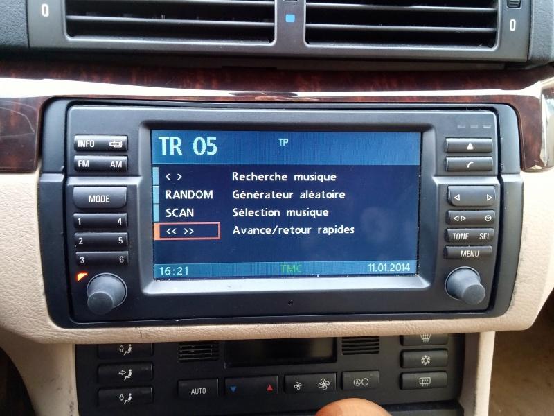 [TUTO toutes BMW jusqu'à 2003] Les menus du GPS mk4 (notions 689478BoutonSetsurCD