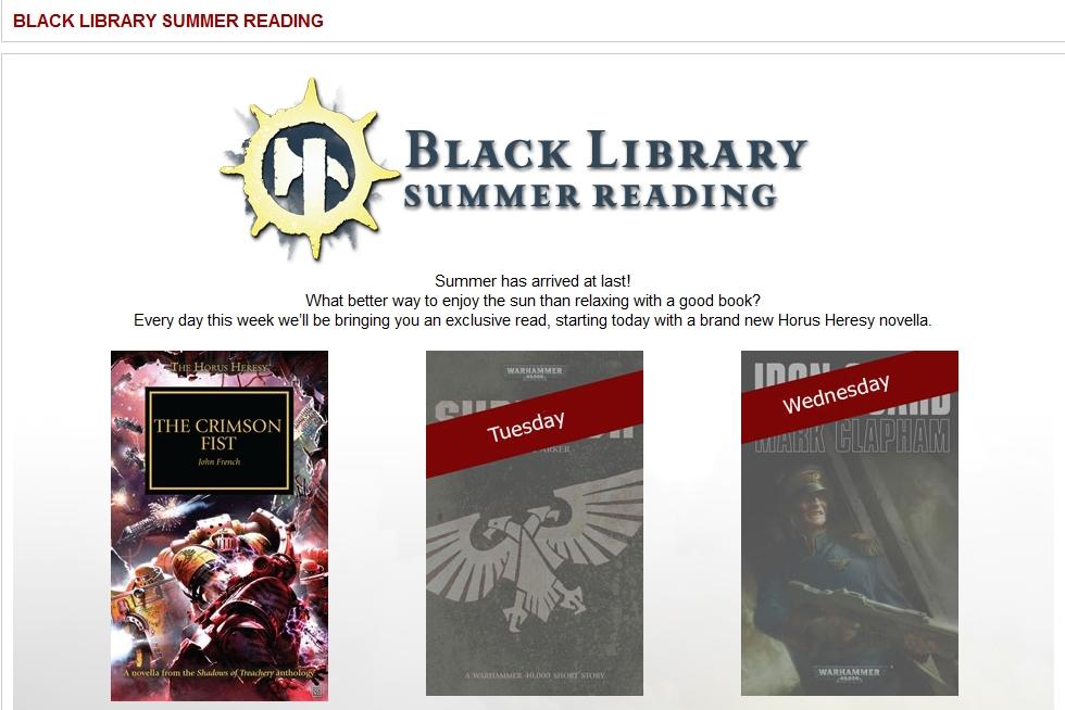 Black Library Summer Reading 691282Summerreading