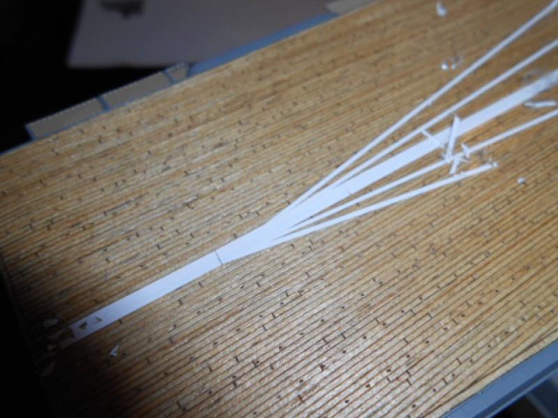 PA AKAGI 1/350 de chez Hasegawa PE + pont en bois par Lionel45 - Page 5 691490Peintureaka001