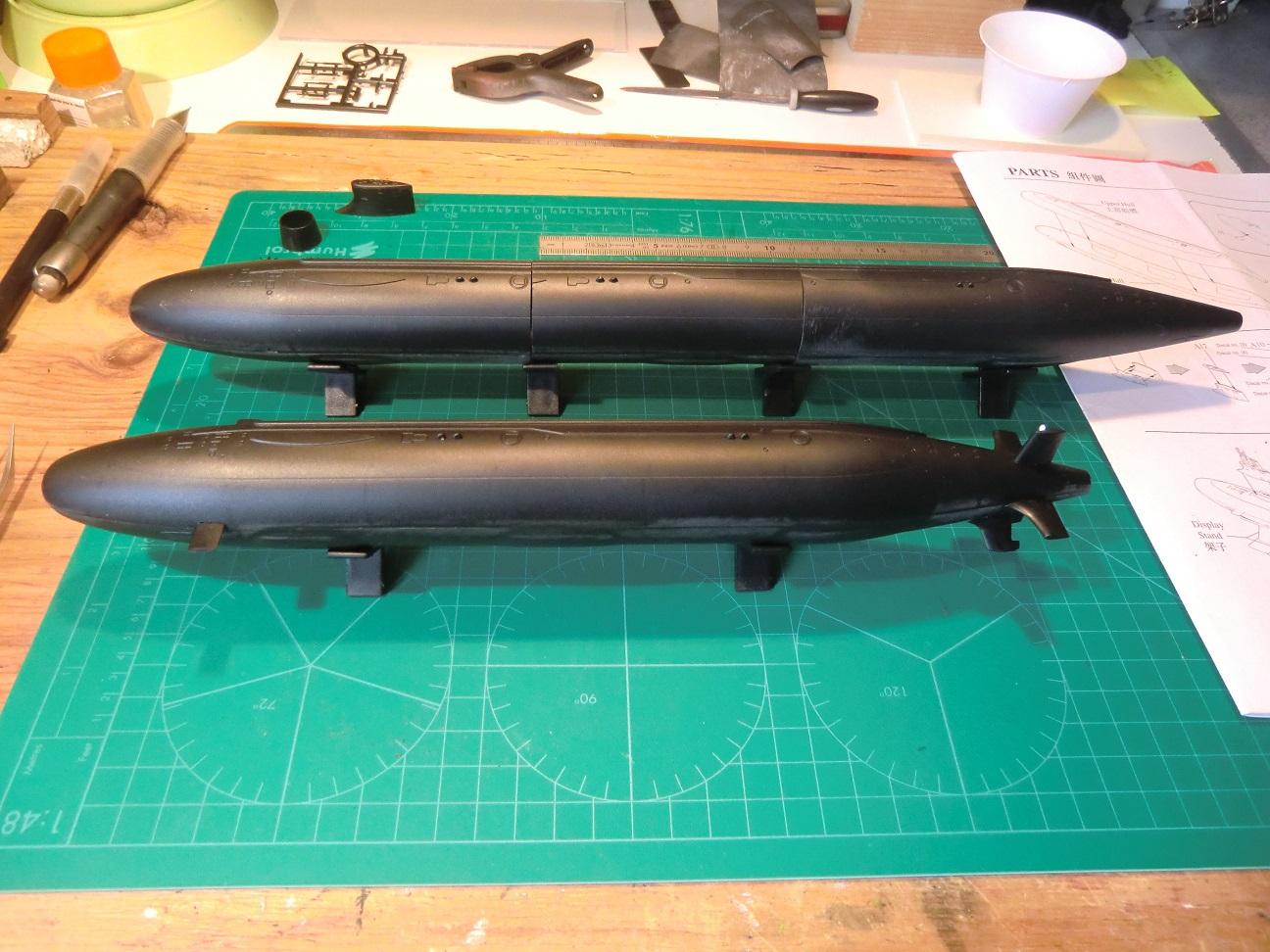 SSN 21 ET SSN 23 Seawolf Class 1/350 692521CIMG7558