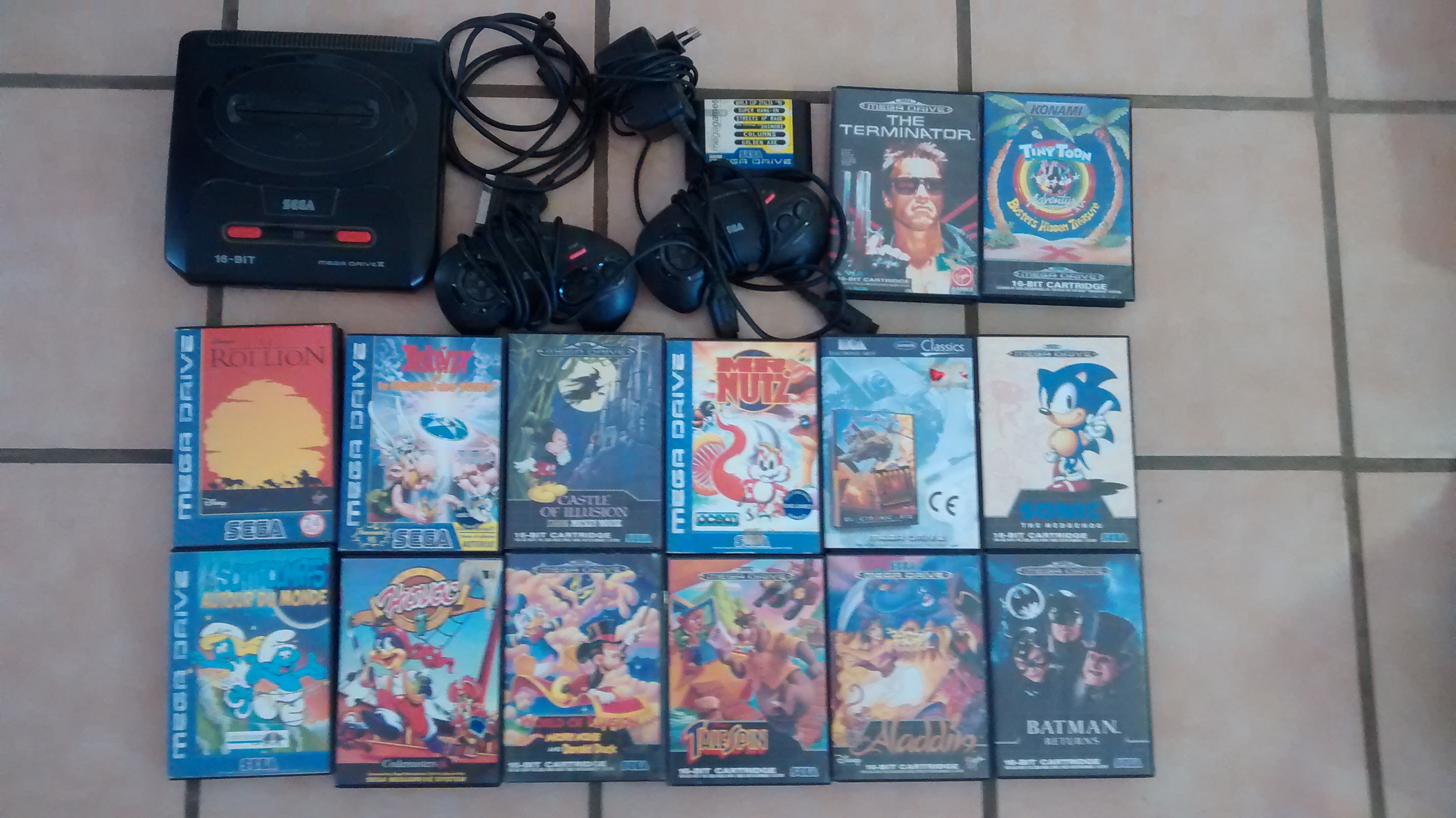 [estim] Lot Sega MD2 +  693017IMG20161030124121227