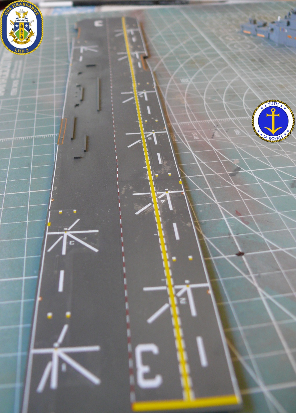 USS KEARSARGE LHD-3 1/700 REVELL 693869Kearsarge30