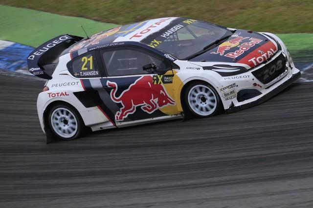 Rallycross - Les PEUGEOT 208 WRX dans le match, Timmy Hansen sur le podium à Hockenheim 694326590ecd450de80