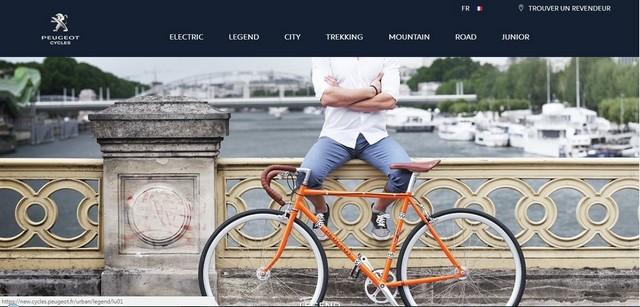 PEUGEOT Cycles lance son nouveau site web 695380homepage