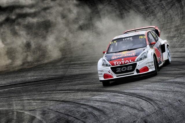 Rallycross - Les PEUGEOT 208 WRX dans le match, Timmy Hansen sur le podium à Hockenheim 697036590ece3943ca4