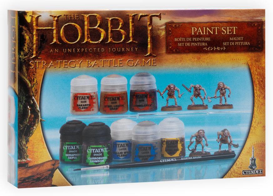 Le Hobbit : le Voyage inattendu, le Jeu de Bataille 697063peinture