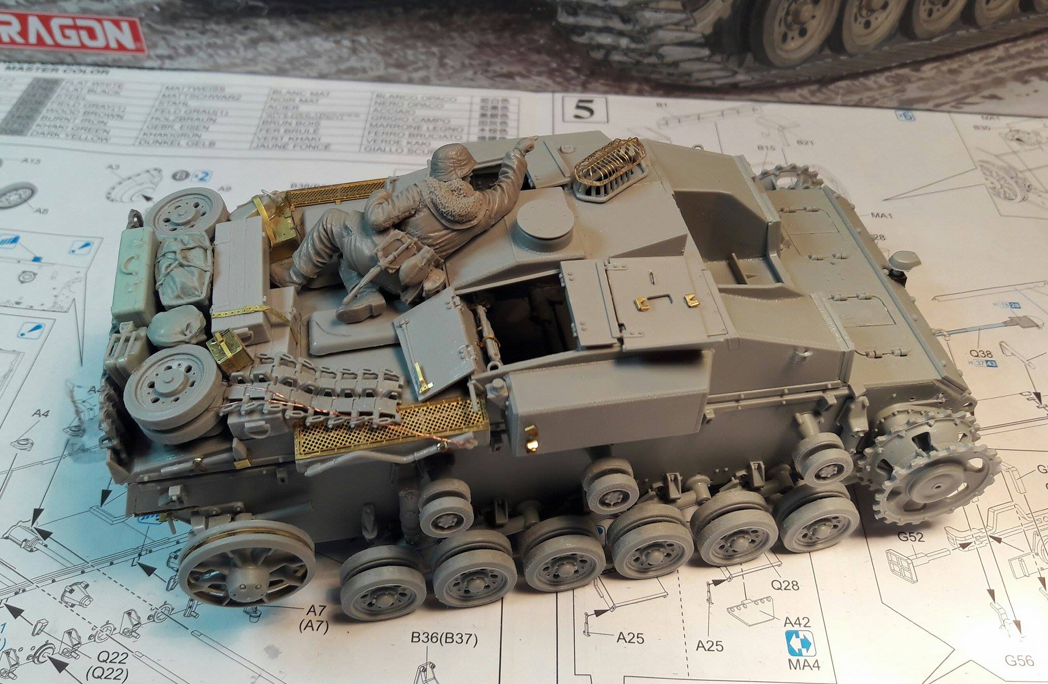 StuG.III Ausf.F/8 late production w/Winterketten - 1/35 - Page 2 697619RearStuff