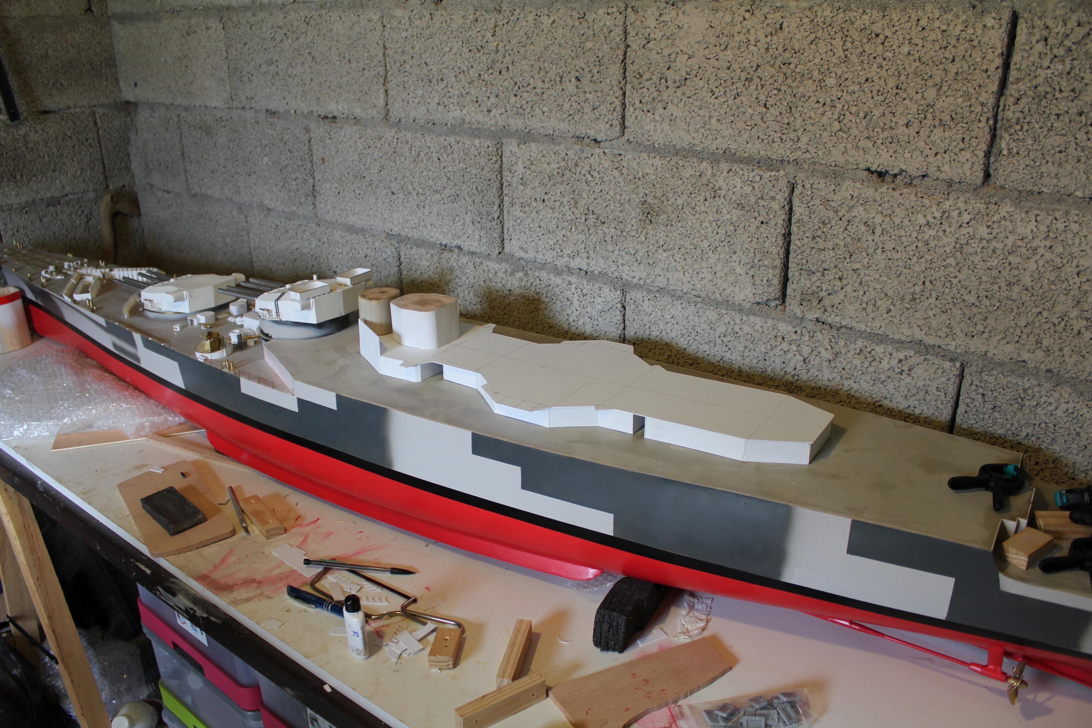 Cuirassé Richelieu 1943 (plans Polonais et Sarnet + Dumas 1/100°) 698149IMG05953600x2400