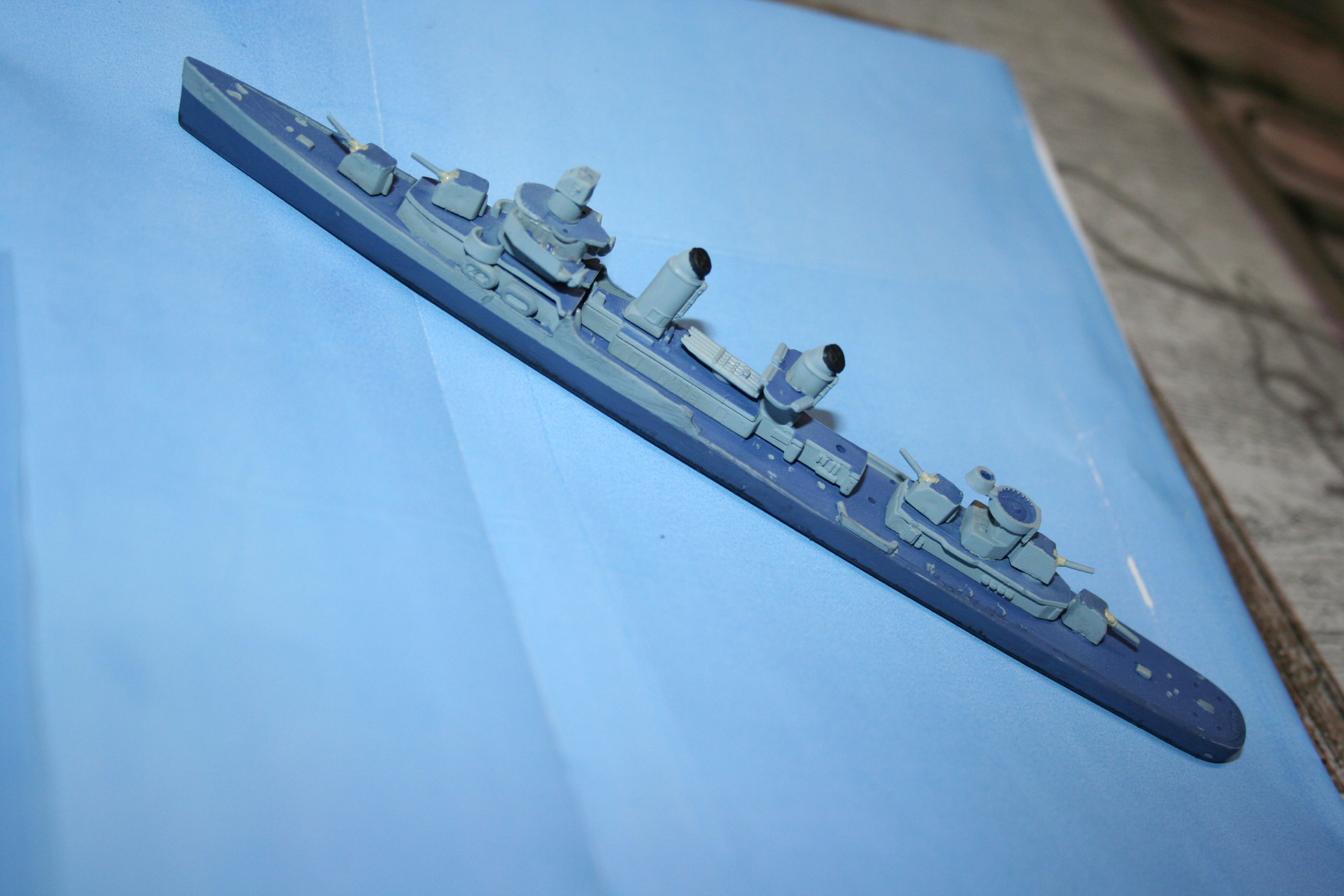 Destroyer USS Fletcher (Revell 1/700°) par Alain88440 698555IMG3645