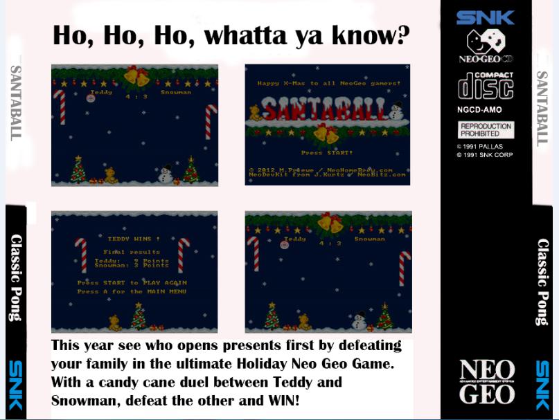 Santaball - un homebrew pour la Neo-Geo CD 699025backli