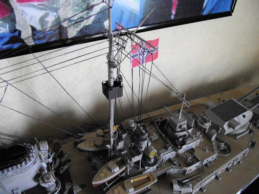 Bismarck Trumpeter 1x200 avec PE et figurines Eduard 700246Bismarck1x200132