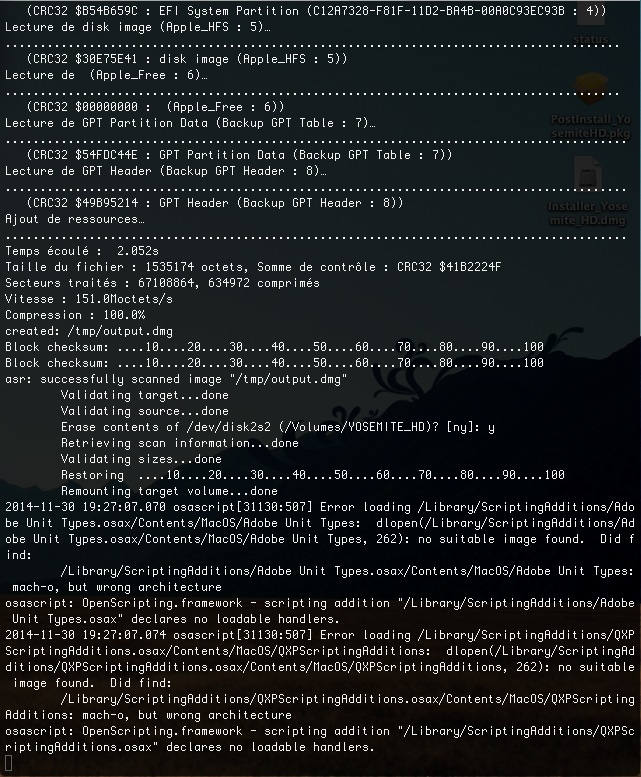 [résolu]Problème Installer Yosemite HD - Page 2 701818Capturedcran20141130192807