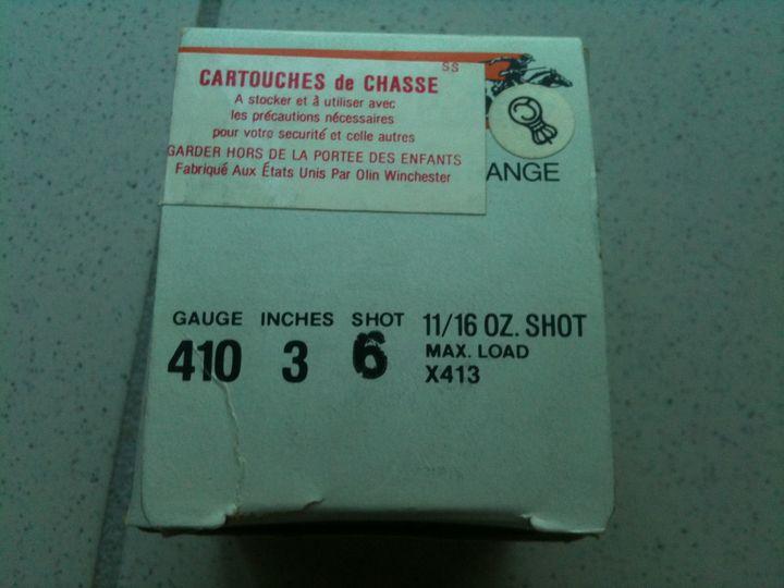 Recherche bonne munition pour Saïga 410 701888410a