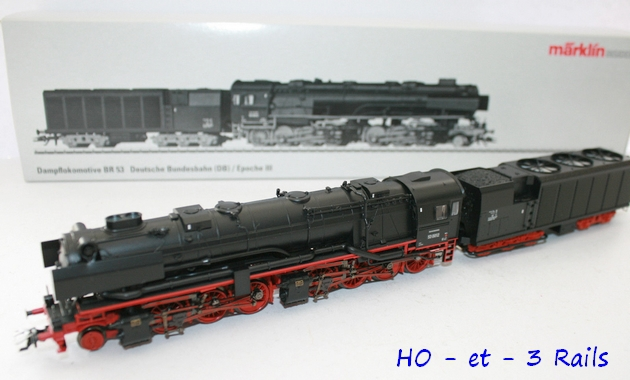 Les locomotives à vapeur articulées 703863Marklin37020BR53KondenstenderInsidermodellMFXDIGITALSOUND3R