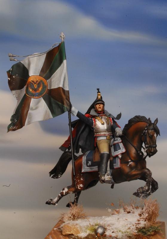 Jacquemin et le drapeau de Arkhangelogorod - Austerlitz 1805 704327FrancoisJacqueminAusterlitz180574