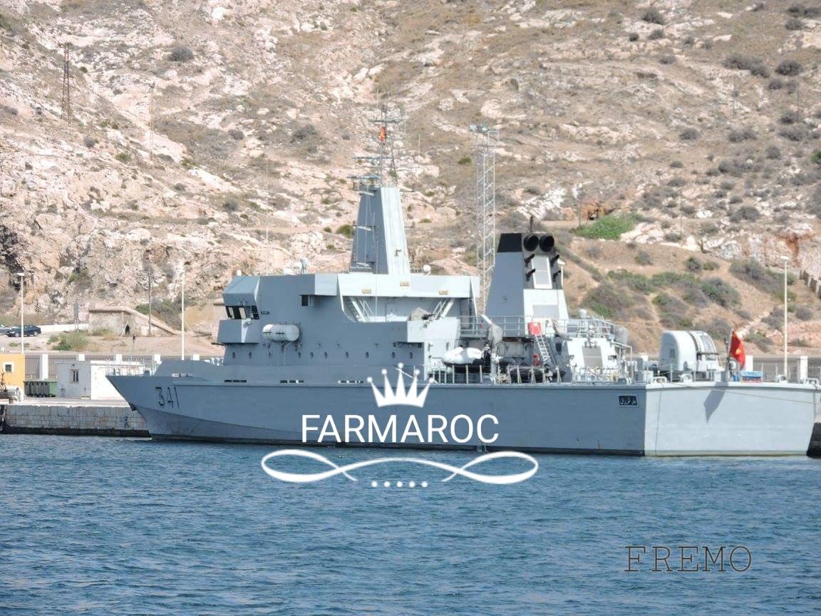 Royal Moroccan Navy OPV-70 / Classe Bir Anzarane - Page 5 70469020180105091350