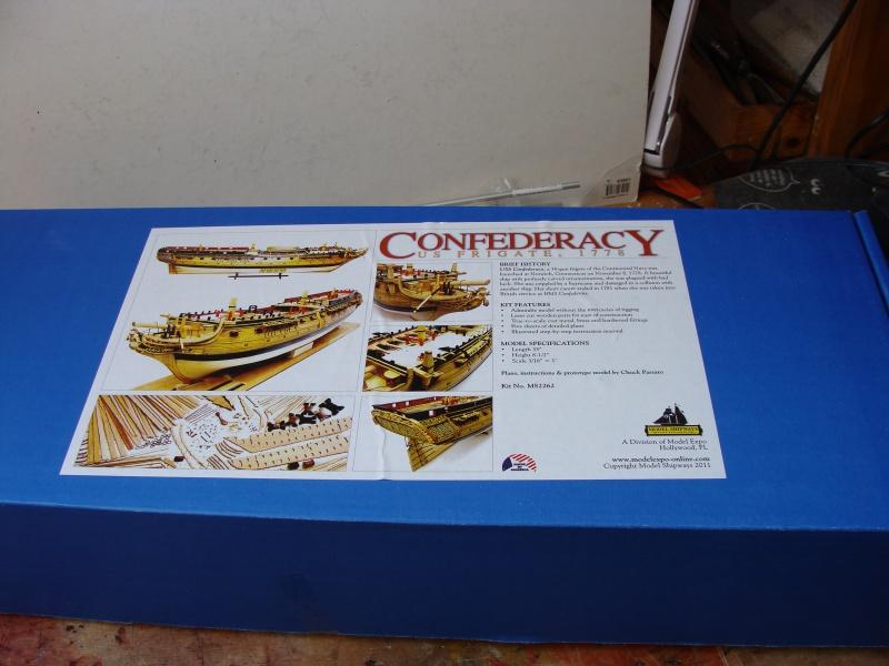 "US  Frigate CONFEDERACY 1778  de Model Shipways  au3/16"" 704794DSC01854"