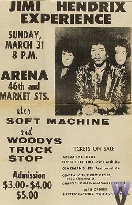 Philadelphie (Arena) : 31 mars 1968 708507hendrixPHA680331PO