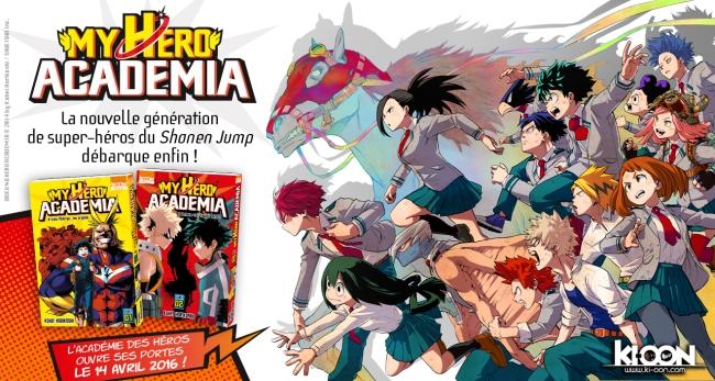 [MANGA/ANIME] My Hero Academia (Boku no Hero Academia) ~ 709885MyHeroAcademiaAnnonceKioon
