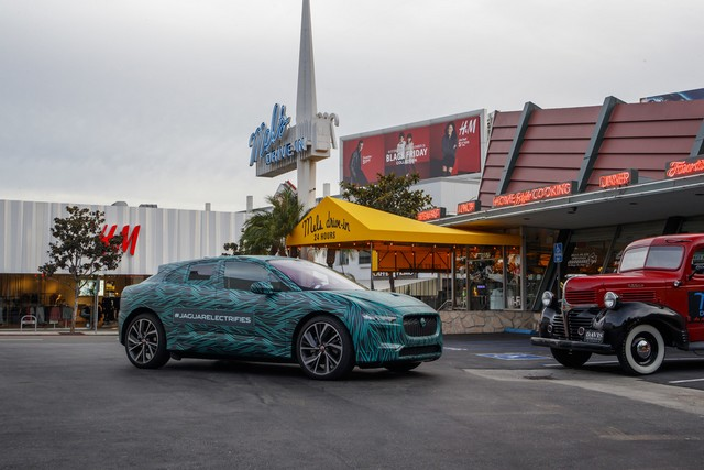 Le Jaguar I-PACE en road trip électrique à Los Angeles 710643jipaceroadtrip061217030
