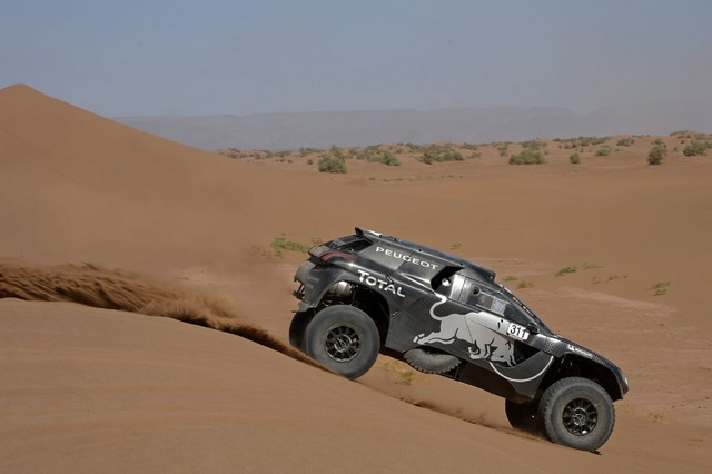 Team Peugeot Total : Rallye du Maroc / ETAPE 2 : Boucle du Drâa 71164605315002034