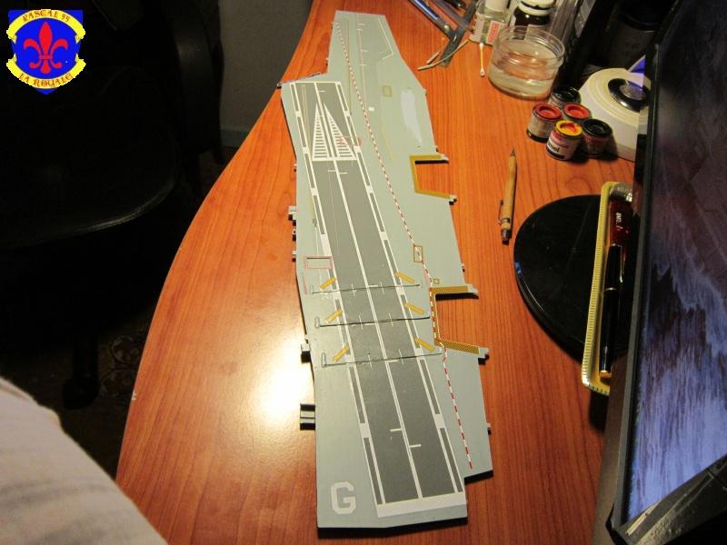 Porte avions Charles De Gaulle au 1/400 d'Heller  - Page 5 713253IMG27871