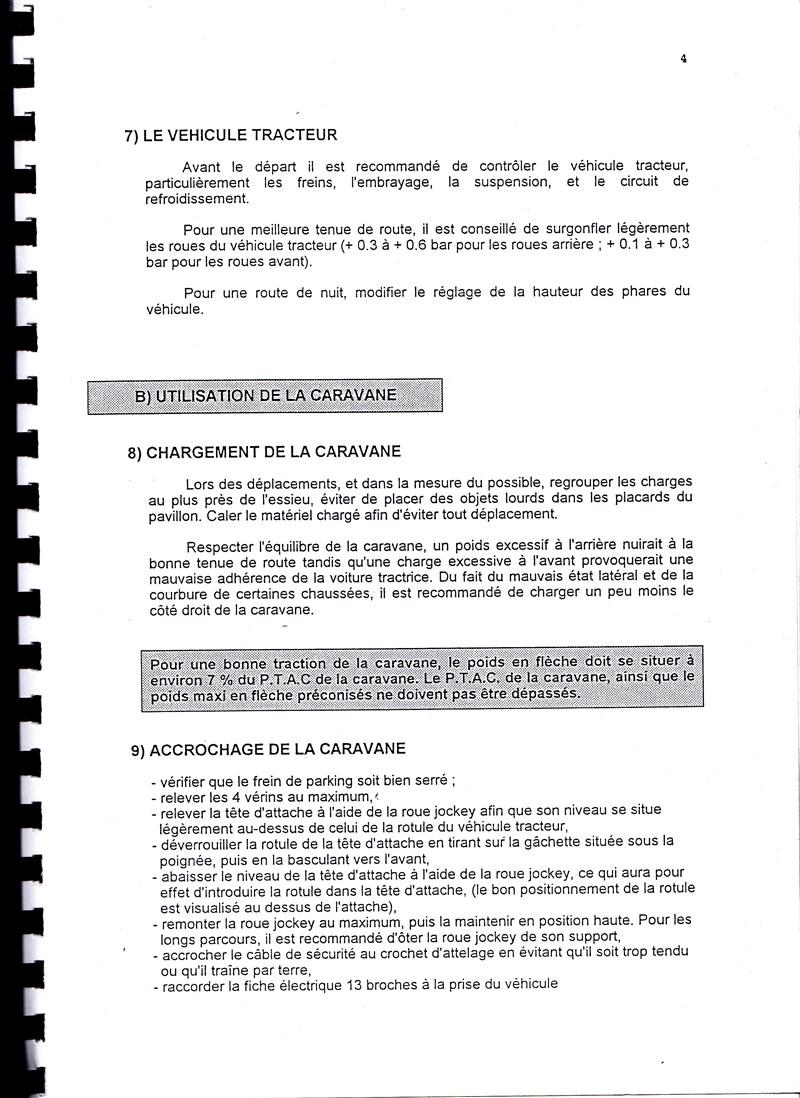 Manuel d'utilisation et d'entretien des caravanes Esterel 1997/1998 715689IMG0004
