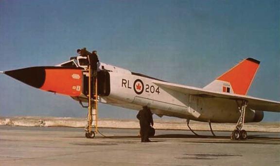 Avro Arrow CF-105 1/48 Hobbycraft 715754Arrow05