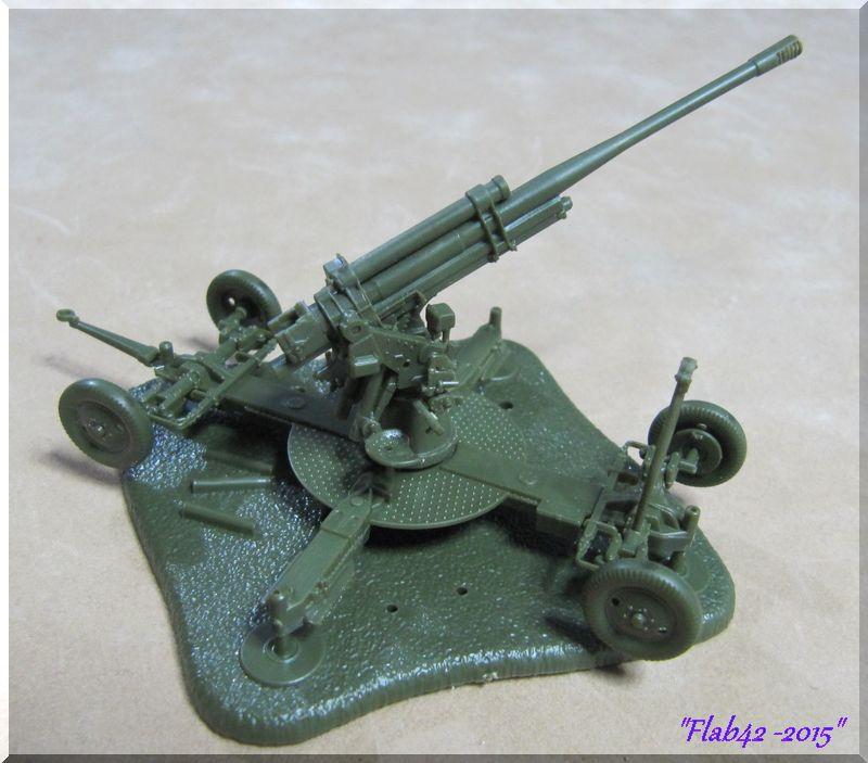 Canon anti-aérien Soviétique de 85mm - Zvezda - 1/72ème 716518266