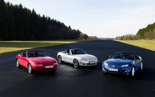 Mazda a mis en ligne un site pour le 25e anniversaire de sa MX-5 716536MazdaMX525ans3