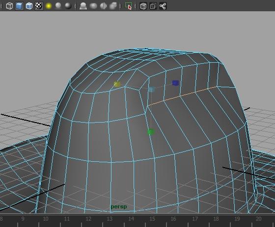 [Tuto] Modélisation d'un chapeau avec Maya 716651Photo12